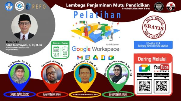 Pelatihan Google Workspace for Education